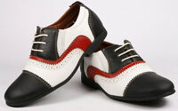 Black Red White Infant Toddler Boy's Kids Lace Up Cap Toe Oxford Dress Shoes
