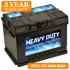 For Audi 100 A3 A4 - Car Battery 075 12V 60Ah 500A L:242mm H:175mm W:174mm