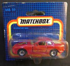 Matchbox MB 59 - Porsche 944  - mint in OVP#999