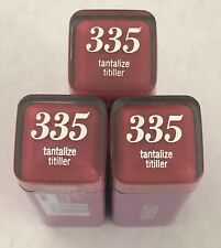 (3) Covergirl Colorlicious Lipstick, 335 Tantalize