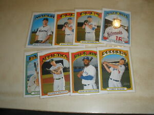 2021 Topps Heritage Short Print LOT OF 6 Seager Robles Pham Teoscar SP