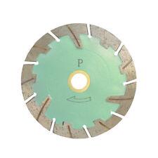 "4"" Turbo Segmented Saw Blade Concrete Brick Cutting WET DRY 0.080"" 10mm Rim"