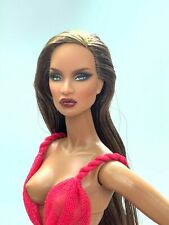 HEAD ONLY Fashion Royalty Integrity Toys New makeup, new hair ooak