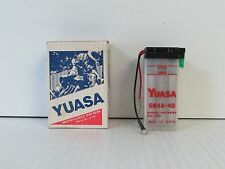 YUASA 6N4A-4D BATTERY FOR 1973-75 76 82 1983 YAMAHA RD60 RS100 XT125-200 (*222*)