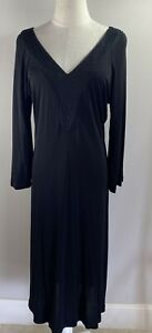 Moss & Spy - Black Dress - 3/4 Sleeves - Size 14 - BNWT