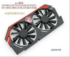 Fan Replacement with Bracket for MSI GTX 750 760 770 780 Twin Frozr Video Card