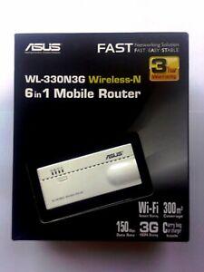 Router Wi-Fi Asus WL 330N3G N150 vs 3G HSPA+ 21,6 MBps modem Huawei E3533s-2