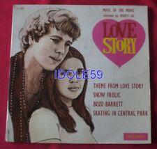 Disques vinyles 45 tours pour la musique de film Love