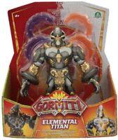 Gormiti Alpha Figure Elemental Titan 8 11/16in Lights & Sounds Original