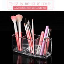Clear Acrylic Eyebrow Pencil Brush Lipstick Cosmetic Display Holder Organizer