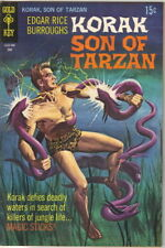 Korak Son of Tarzan Comic Book #29 Gold Key Comics 1969 FINE