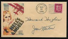 Hell's Angels Jean Harlow Collector Envelope Original Period 1930s Stamp OP1227