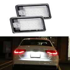 2pcs Audi Canbus License Number Plate LED Light Lamp A3 S3 A4 B6 B7 A6 S6 A8 RS4