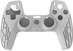 White PS5 Controller Silicone Case Cover Protective Skin For Sony PlayStation 5