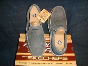 SKECHERS Expected  Avillo  Man Relaxed Fit  Shoes Blue 9.5US  NIB