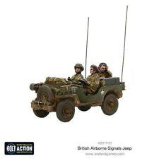 Seigneur de Guerre Games British Airborne Signals Jeep großbritiannien britanniques Bolt Action