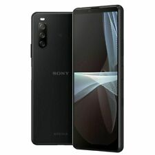 Sony Xperia 10 III XQ-BT52 128GB Schwarz Black Ohne Simlock Android Dual SIM 5G