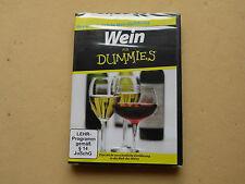 Dokumentation Doku Wein für Dummies Weinkunde Wissen DVD Neu OVP