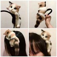 Women's Cat Kitten Headband Hair Band Cosplay Party Hair Accessories