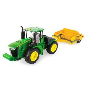 1/16 John Deere 9570R Tractor w/ 1812DC Scraper, ERTL Big Farm 47179