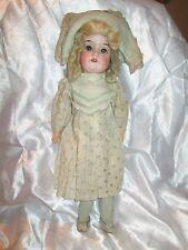 Rare 14 inch Schoenau & Hoffmeister Bisque Doll *TLC
