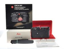 Leica M6 0.85 black Body OVP 10413 Top Condition