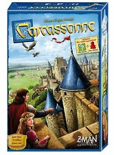 Carcassonne New Edition Board Game - (Includes Mini Expansions The River)