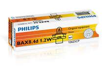Philips Bax b8.4d 1.2w 12v negro/Black 10 St 12625cp + + nuevo + +
