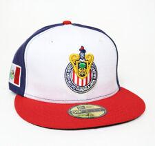 New Era Club Guadalajara Chivas 59FIFTY Fitted Hat Gorra Cerrada Red/White/Navy