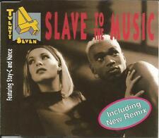 TWENTY 4 SEVEN Slave to the Music 5TRX MIXES Europe CD single USA seller SEALED