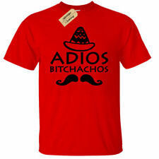 Kids Boys Girls Adios Bitchachos Funny Tee Mexico Mexican Spanish Party tee
