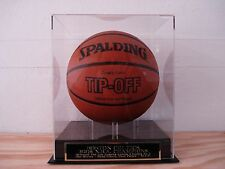 Basketball Case With A Boston Celtics 2008 Champions Engraved Nameplate