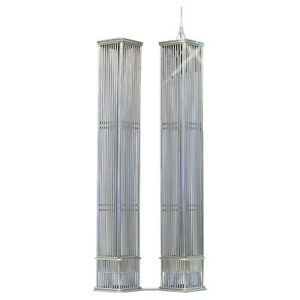 Twin Towers Wire Model