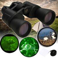 180x100mm Day Night Vision Outdoor Travel HD Binoculars Hunting Telescope+Case