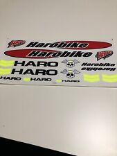 Haro Bikes Vinyl Sticker//Decal *BMX*Race*Freestyle*Vintage*Cranks*Pegs*handlebar