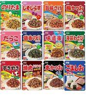 Marumiya, Furikake Series, Noritama, Bonito, Ume, etc, Japan