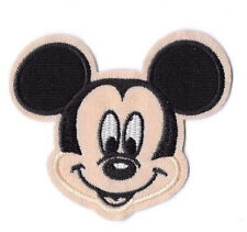 MICKEY MOUSE Iron on / Sew on Patch Embroidered Badge Cartoon TV PT76