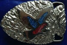 Vintage~ ARROWHEAD EAGLE BELT BUCKLE