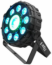 Chauvet DJ FX Par 9 Compact DMX Multi-Effect LED, SMD RGB+UV Strobe Par Light