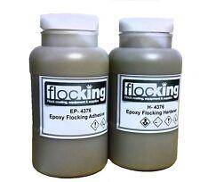 Flocking Epoxy Adhesive System 1.5 Kilo Epoxy and Hardener, Full Instructions