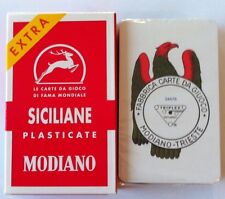 Modiano Siciliane Italian Playing Cards 2 Pack Carte Siciliani Briscola Card NEW