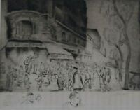 ETCHING ARTIST SIGNED