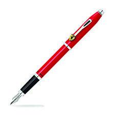 Cross Scuderia Ferrari Century II Fountain Pen - Glossy Rosso Corsa Red - Medium