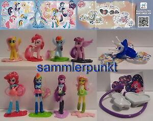 EINZELFIGUR + BPZ Ihrer Wahl aus My little Pony & Equestria Girls + Zubehör