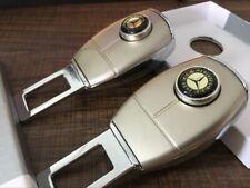 2x Safety Seat Belt Buckle Alarm Eliminator Warning Stopper For MERCEDES-Benz