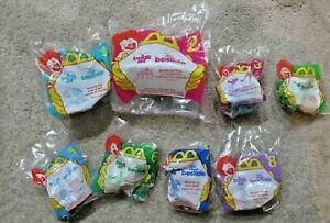 8 Factory Sealed Complete Set McDonald Toys Disney A Bug's Life