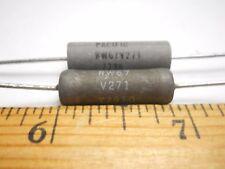 Resistor, 270 Ohm 5 Watt 5% Power Resistor (NOS, New Old Stock)(QTY 10 ea)F34