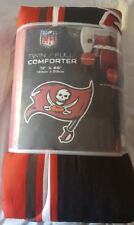 """Tampa Bay Buccaneers Plush 72"""" by 86"""" Twin/Full Size Comforter- NFL"""