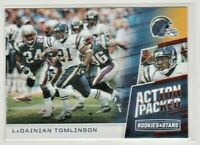 2017 Rookies and Stars Action Packed #17 LaDainian Tomlinson Chargers