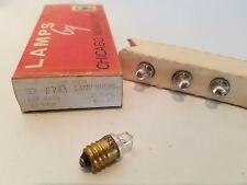 Box of 5 Chicago Miniature No. 1814 CM1814 GE1814 Screw Lamps Light Bulbs *14V